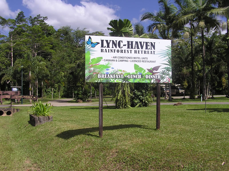 Lync Haven's Rainforest Caravan and Camping